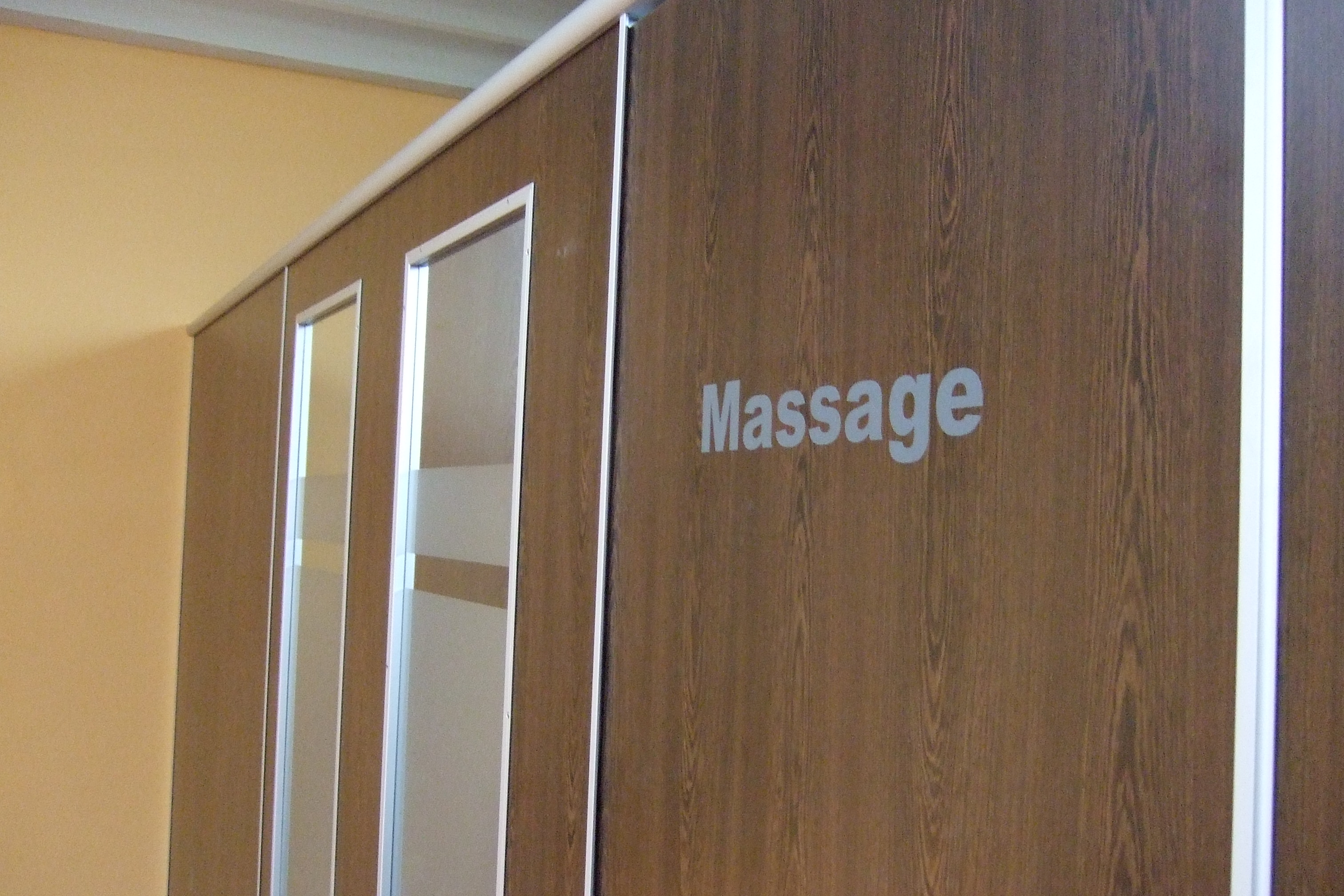 Massagekabine