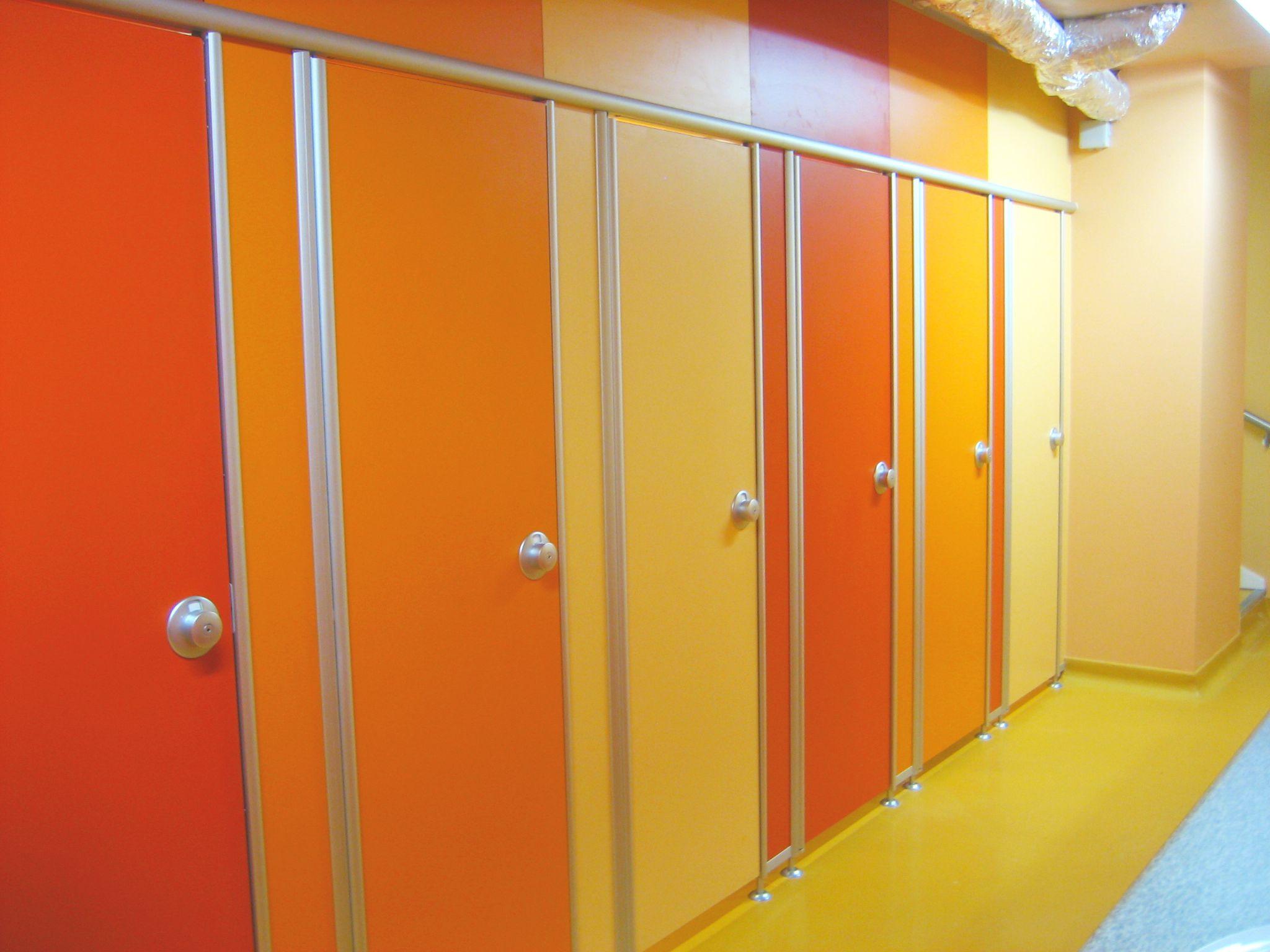 WC-Trennwände | Trennwandsysteme und Raumsysteme