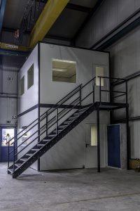 Doppelgeschossiges Büro Jansen