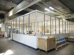 Hallenbüro Bückeburger Raumsysteme